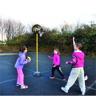 Sure Shot Walk Junior Basketball Unit - In Use2