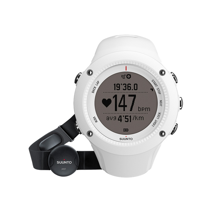 Suunto Ambit2 R Heart Rate Monitor – White