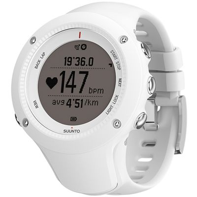 Suunto Ambit2 R Heart Rate Monitor - White - Perspective Chrono Positive