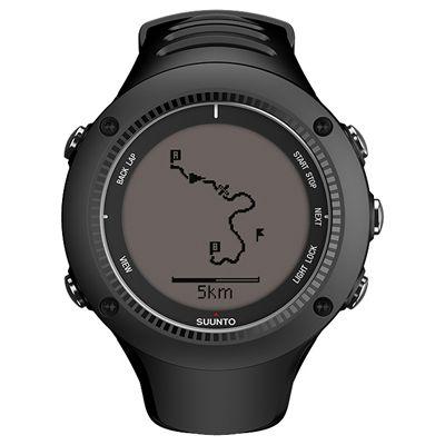Suunto Ambit2 R Sports Watch - Black - Front Navigation Positive