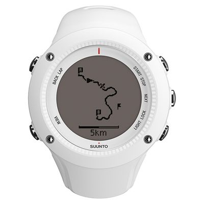 Suunto Ambit2 R Sports Watch - White - Front Navigation Positive
