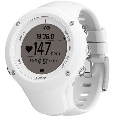 Suunto Ambit2 R Sports Watch - White - Perspective Chrono Positive