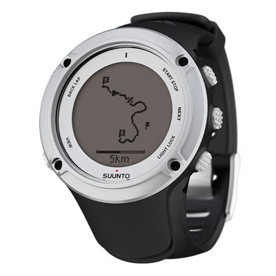 Suunto Ambit2 Sports Watch - Silver side view