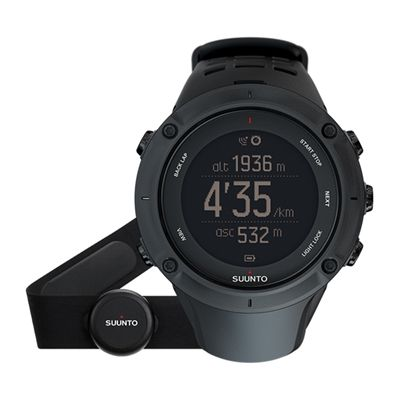 Suunto Ambit3 Peak Black Heart Rate Monitor Image