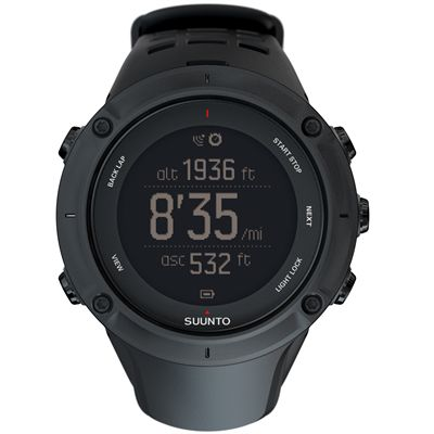 Suunto Ambit3 Peak Black Sports Watch Image