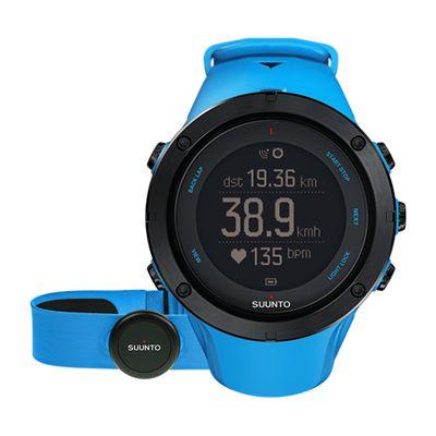 Suunto Ambit3 Peak Heart Rate Monitor-Blue
