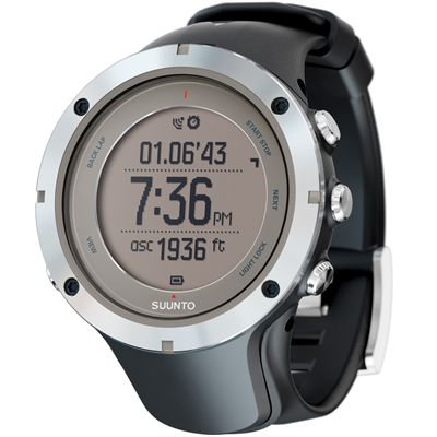 Suunto Ambit3 Peak Sapphire Sports Watch Perspective Image