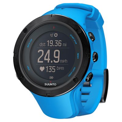 Suunto Ambit3 Peak Sports Watch-Blue-Perspective