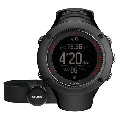 Suunto Ambit3 Run Heart Rate Monitor - Black