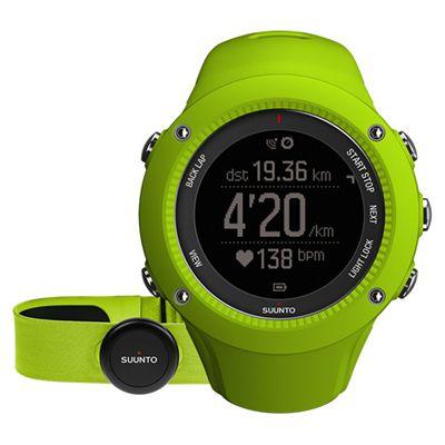 Suunto Ambit3 Run Heart Rate Monitor - Lime