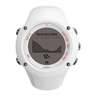 Suunto Ambit3 Run Heart Rate Monitor - White - Front View 1