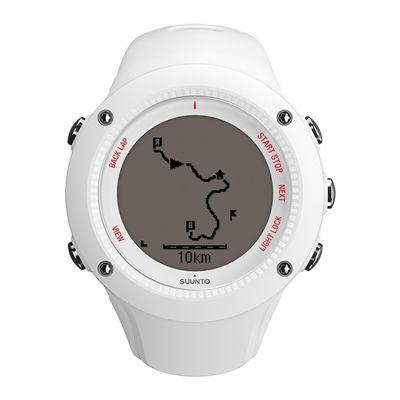 Suunto Ambit3 Run Heart Rate Monitor - White - Front View 2