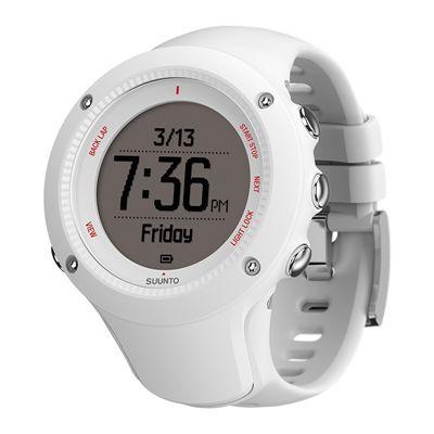 Suunto Ambit3 Run Heart Rate Monitor - White - Profile View