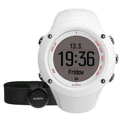 Suunto Ambit3 Run Heart Rate Monitor - White