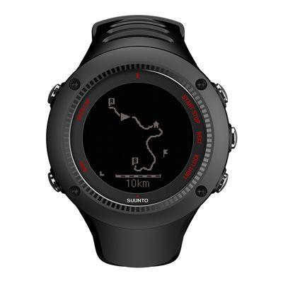 Suunto Ambit3 Run Sports Watch - Black - Front View 3