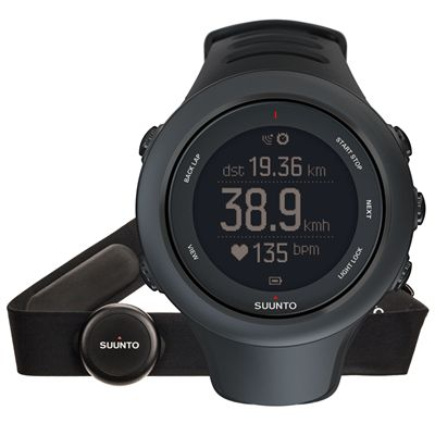 Suunto Ambit3 Sport Heart Rate Monitor - Black