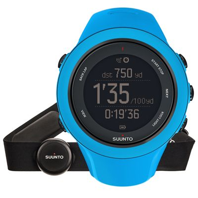Suunto Ambit3 Sport Heart Rate Monitor - Blue