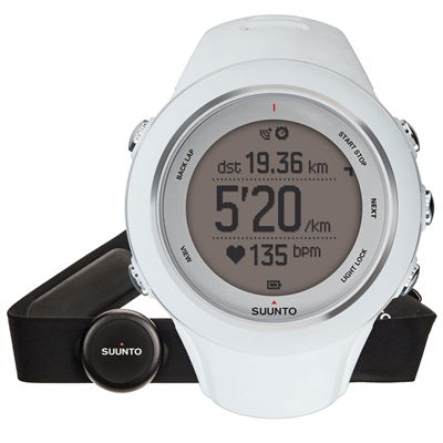 Suunto Ambit3 Sport Heart Rate Monitor - White