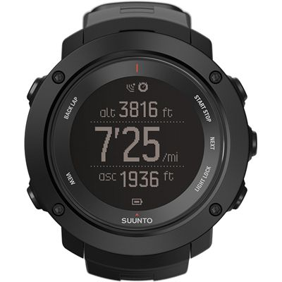 Suunto Ambit3 Vertical Heart Rate Monitor-Black-Distance