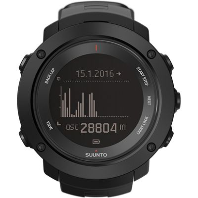 Suunto Ambit3 Vertical Heart Rate Monitor-Black-Graph