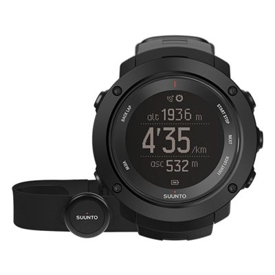 Suunto Ambit3 Vertical Heart Rate Monitor-Black
