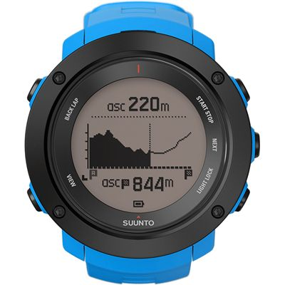 Suunto Ambit3 Vertical Heart Rate Monitor-Blue-Altitude
