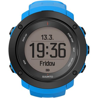 Suunto Ambit3 Vertical Heart Rate Monitor-Blue-Time