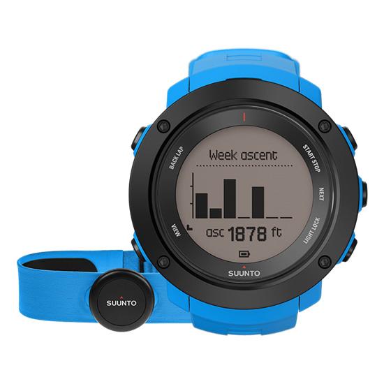 Suunto Ambit3 Vertical Heart Rate Monitor  Blue