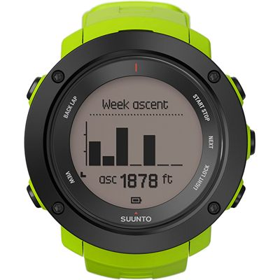 Suunto Ambit3 Vertical Heart Rate Monitor-Week Ascent