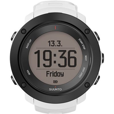 Suunto Ambit3 Vertical Heart Rate Monitor-White-Time