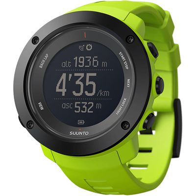Suunto Ambit3 Vertical Sports Watch-Green-Angled