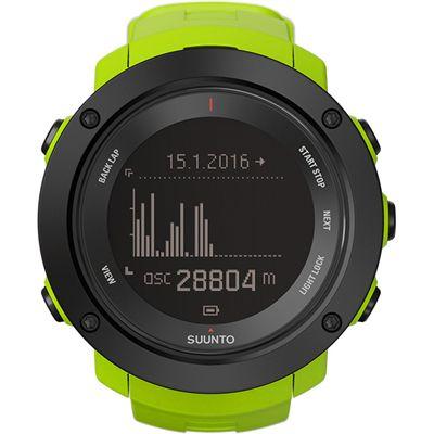 Suunto Ambit3 Vertical Sports Watch-Green-Graph