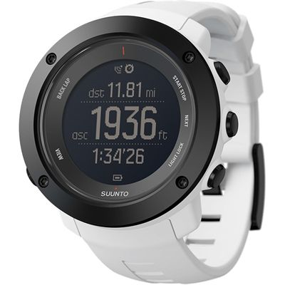 Suunto Ambit3 Vertical Sports Watch-White-Angled