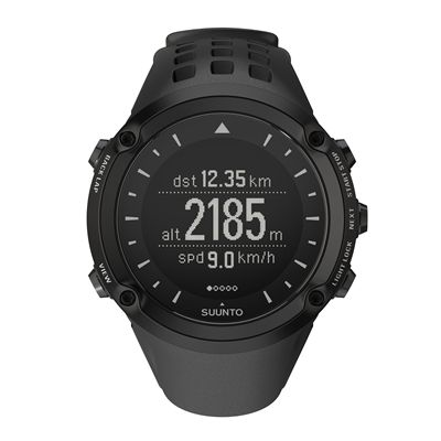 Suunto Ambit GPS Speed & Distance Outdoor Sports Watch Black
