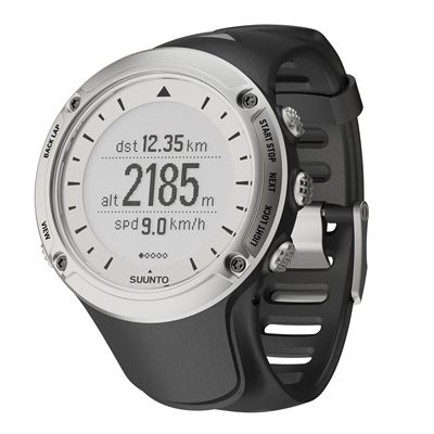 Suunto Ambit HR GPS Speed & Distance Outdoor Sports Watch Silver