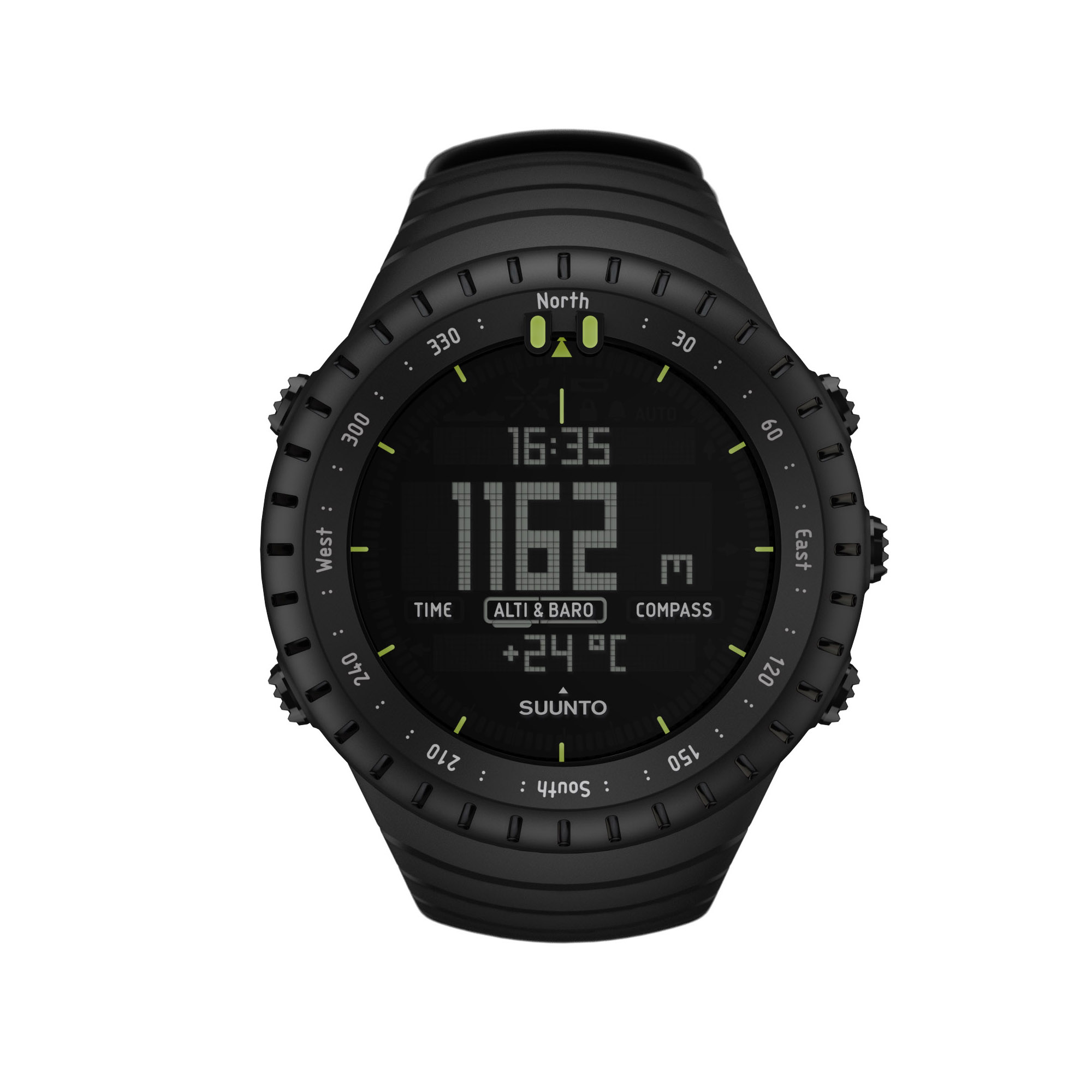 Suunto Core Outdoor Sports Watch - All Black