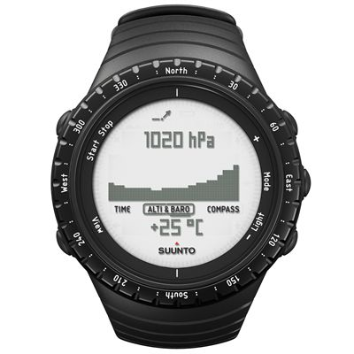 Suunto Core Outdoor Sports Watch Regular Black