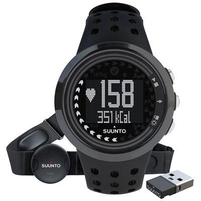 Suunto M5 Mens Heart Rate Monitor - All Black