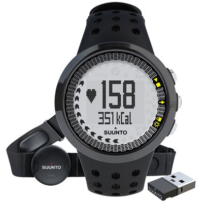 Suunto M5 Mens Heart Rate Monitor - Front View