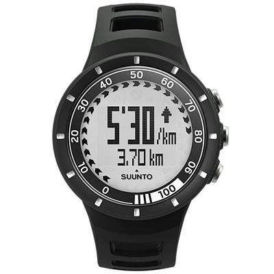 Suunto Quest GPS Pack with Heart Rate - Black - Watch