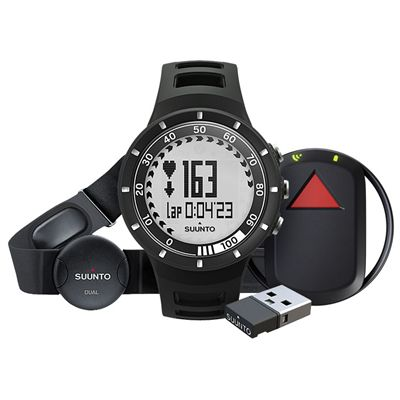 Suunto Quest GPS Pack with Heart Rate - Black