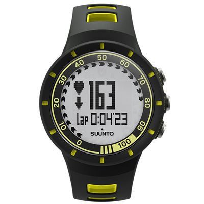 Suunto Quest GPS Pack with Heart Rate - Yellow - Watch