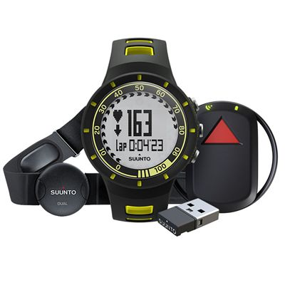 Suunto Quest GPS Pack with Heart Rate - Yellow