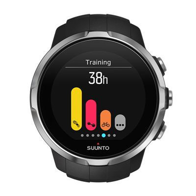Suunto Spartan Sport Heart Rate Monitor-Black-Training