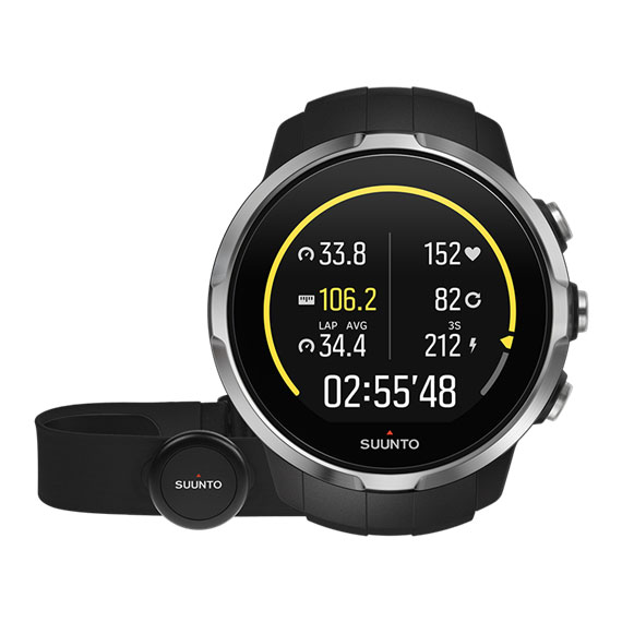 Suunto Spartan Sport GPS Heart Rate Monitor  Black