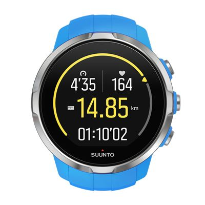 Suunto Spartan Sport Heart Rate Monitor-Blue-Running