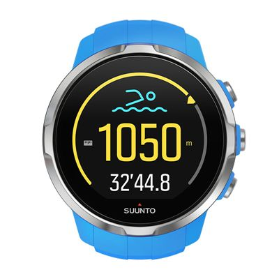 Suunto Spartan Sport Heart Rate Monitor-Blue-Swimming