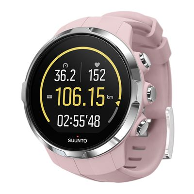 Suunto Spartan Sport Heart Rate Monitor-Pink-Angled