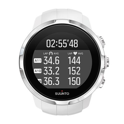 Suunto Spartan Sport Heart Rate Monitor-White-Cycling