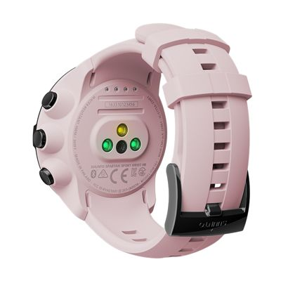 Suunto Spartan Sport Wrist Heart Rate Monitor - Pink- Back